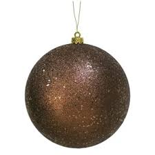 Sequin And Glitter Christmas Ball Decorations by Modern Holiday Ornaments Allmodern