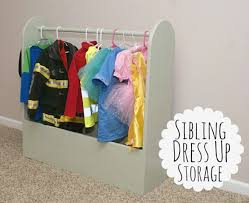 sibling dress up storage u2014 decor and the dog