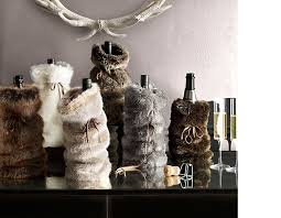 restoration hardware gift we re loving rh s faux fur for gifts blue dish