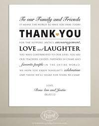 wedding thank you digital file personalized wedding reception thank you card