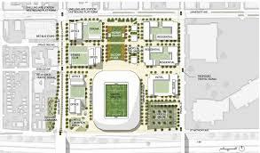 stadium floor plans plan unveiled for urban village near st paul soccer stadium