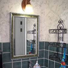 Decorative Mirrors For Bathrooms by Bathroom Decorative Mirror Bathroom Decorative Mirror With