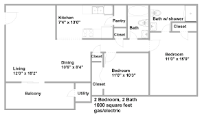 apartment best 1 bed 2 bath apartments excellent home design