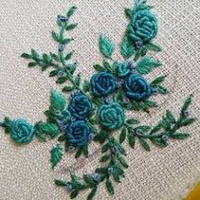 rev黎ement mural cuisine stitch your own garden knots flowers and embroidery