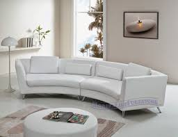 Modern White Sectional Sofa by Furniture Curved Sectional Sofa Curved Sofas Modern Curved