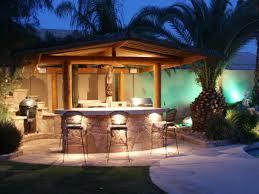 outdoor kitchen bar lights kitchen design
