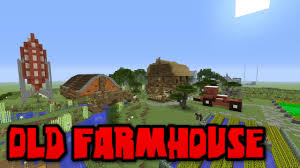 farm house minecraft old farmhouse minecraft creative world tour youtube