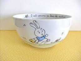 porcelaine peinte main bol