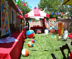 circus carnival birthday party ideas photo 5 of 22 catch my party