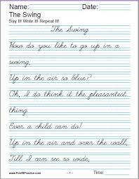 printable handwriting worksheets writing practice