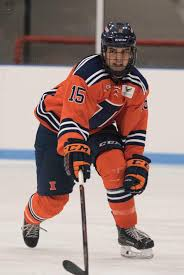 illinois hockey sweeps illinois state remains undefeated the