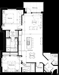 Luxury Condo Floor Plans Edmonton New Condos 2 Bedroom New Condo Floor Plan For Suite 207