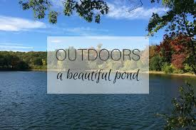 outdoors a beautiful pond mumturnedmom