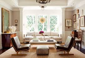 White Leather Living Room Chair Living Room Fascinating Glass Chandelier Which Has Dark Brown Ring