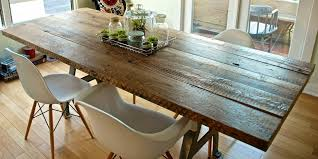 Reclaimed Wood Dining Room Furniture Reclaimed Wood Outdoor Dining Table Diy Rustic Projects Best 25