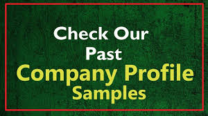 company profile writing engage expert company profile writers to make a great first