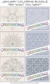 coloring bundle 6 pack suziq creations