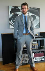 what color shirt with light grey suit light grey suit brown shoes google search suited booted
