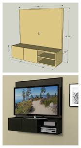 Wall Mount Tv Stand With Shelves by Diy Framed Art That Slides To Hide Your Tv Art Pieces