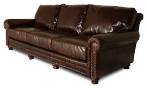 extra deep leather sofa extra deep leather furniture for the big tall leather creations