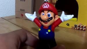 mario 3d figure ornament unboxing