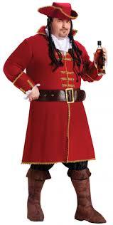 halloween costumes plus size captain morgan men u0027s plus size costume