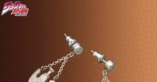 jojo s earrings new wallet and jewelry set from jojo s adventure tokyo