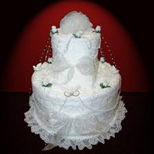towel cakes wedding bridal towel cakes dar s designs cakes and more