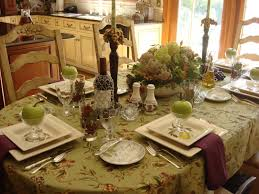fall table setting how to decorate dining table for dinner
