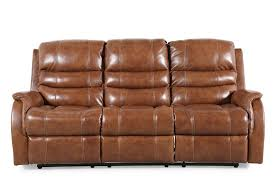 Leather Sofa Reclining Sofas Couches Mathis Brothers Furniture Stores