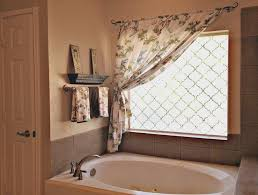 what u0027s so trendy about bathroom curtain ideas for windows