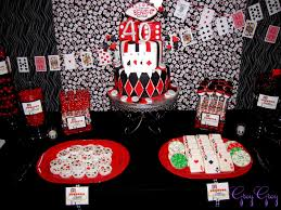interior design cool vegas themed party decorations good home