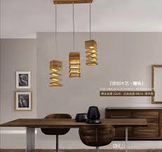 Wood Pendant Light Fixture New Design Modern Wood Pendant Light For Dining Room Living Room