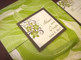 wedding invitations hawaii hawaii wedding invitation a vibrant wedding