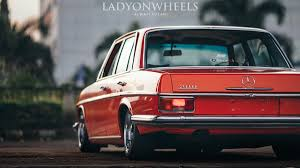 classic red mercedes mercedes benz w114 mano automanas lt detail page mano automanas