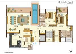2 Bedroom Duplex Floor Plans by 5 Bhk Duplex Floor Plan U2013 Meze Blog