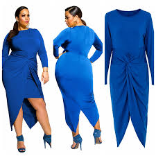 dovetail folds plus size dress for women night clubbing wear plus