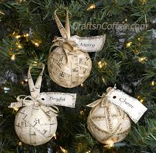 diy a four step five ingredient rustic muslin ornament crafts