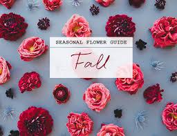 wedding flowers guide top fall wedding flowers in season with seasonal flower guide fall