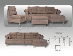 L Shaped Sofa Bed Sectional Sofas Home U0026 Office Furniture Philippines