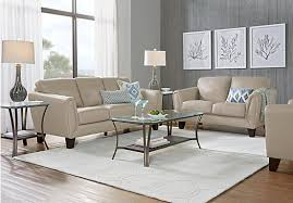 gorgeous tan leather living room set two piece three piece four