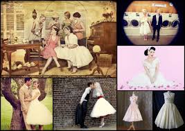 inspired by 50s brides revel events