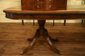double pedestal dining room table table alluring smith regency finished mahogany double pedestal