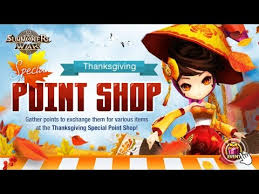 summoners war eventy special thanksgiving point shop 20 11 2017