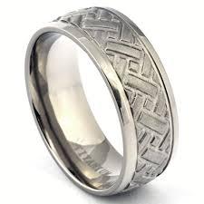 tire wedding ring titanium car tire tread wedding band for