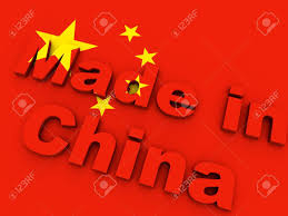 Chineses Flag Made In China On Chinese Flag Stock Photo Picture And Royalty