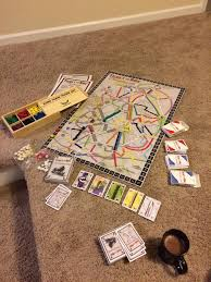 i made a custom ticket to ride board game for my girlfriend for