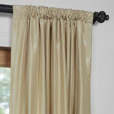butternut 50 x 96 inch vintage textured faux dupioni silk curtain