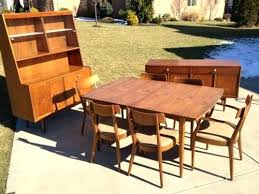 mid century modern dining table set mid century modern dining table set awesome mid century modern