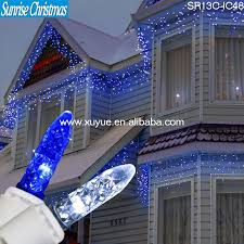 outdoor led icicle lights led decorative serial lights